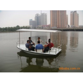 太阳能驱动玻璃钢游船 太阳能