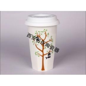 渭南星巴克咖啡杯批发订制