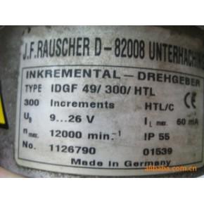 销售进口德国RAUSCHER公司增量型测速编码器