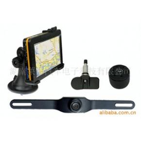 汽车导航系统,GPS,TPMS,倒车后视集成