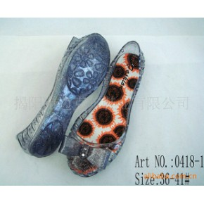 精美水晶凉鞋 凉鞋  订货