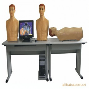 智能型网络多媒体胸腹部检查综合教学系统(学生实验机