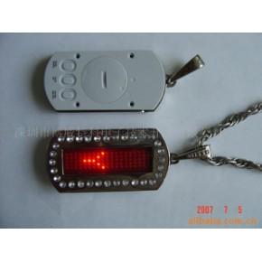 LED吊牌狗牌 带后盖按键
