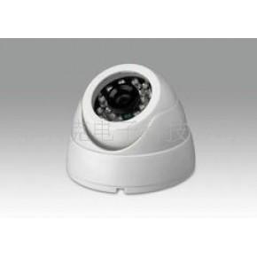 白色监控红外半球彩色摄像机/1/3索尼540线