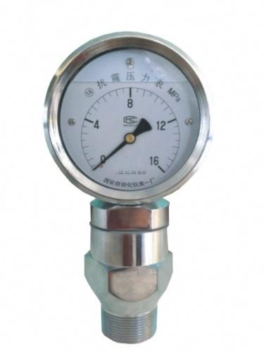 抗震压力表  YK-100