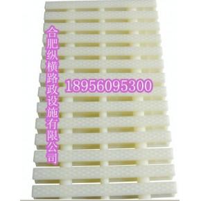 塑料白色盖板滁州/定远游泳池塑料防滑盖板格栅
