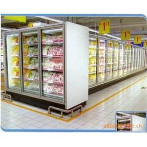 海尔开利大型展示柜、冷冻冷藏柜