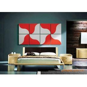 背景墙 彩雕背景墙 装饰 墙贴(两相依02A)