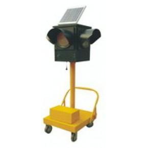 国标LED移动式太阳能交通信号灯