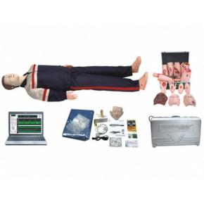 电脑高级心肺复苏与创伤模拟人 急救模型 医学模型