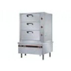 三门海鲜蒸柜 厨房设备 炊事设备