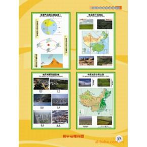 【全国全】初中地理教学挂图/教学挂图/学校挂图/纸质挂图