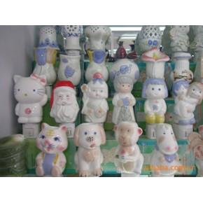 陶瓷灯具饰品 灯罩 白瓷
