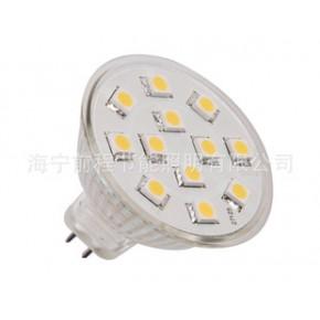 12SMD MR16 LED灯杯