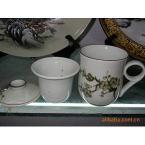 陶瓷水杯 8132# 普通杯