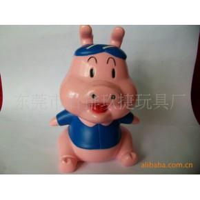 猪仔存钱罐,动物存钱罐,塑胶钱罐,存钱罐