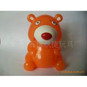 熊仔存钱罐,动物存钱罐,塑胶钱罐,存钱罐