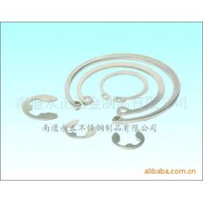 不锈钢轴用、孔用挡圈等材质:SUS201、304、316