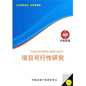 耐火材料保护渣表项目可行性研究报告
