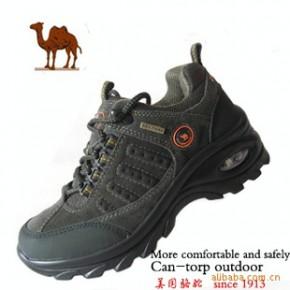 美国骆驼女鞋 气垫底 女士登山鞋 户外鞋 徒步鞋
