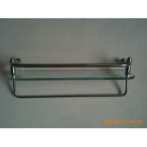 淋浴房五金配件不锈钢单层置物架