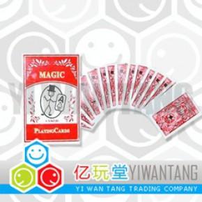 魔术道具 近景魔术 扑克魔术 神奇的小鬼找牌