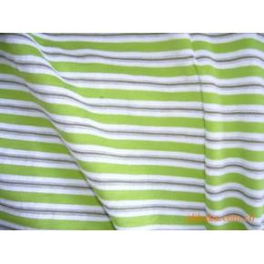 针织色织面料 92%棉8%金银丝