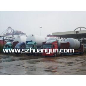 超高框架箱拖车运输 超高开顶箱拖车运输