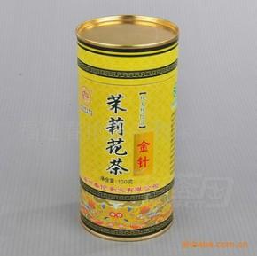 福州春伦茶业【茉莉金针】100g罐装