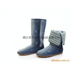 2010 现货 新品牛仔靴雪地靴 高筒靴1862