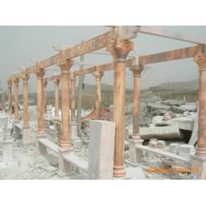 长期供应 石材雕刻 亭子 花架