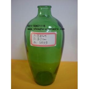 绿料玻璃瓶、绿色玻璃罐、农药玻璃瓶生产厂家