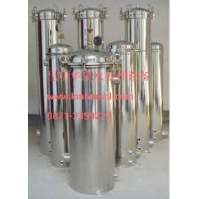 昆明滤芯式过滤器,精密过滤器,保安过滤器供应