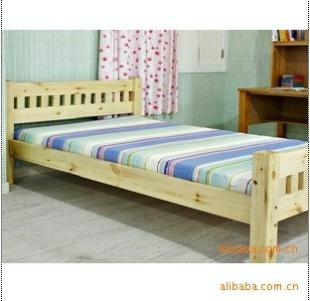 床头柜 床 实木床 杉木床 职员床 折叠床