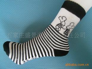 【淘宝专供黑白相间袜子少女女生】卡通普通图元污动现货二次图片