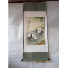 国画批发 批发卷轴画 名家书法 四条屏 四尺山水 牡丹 梅花