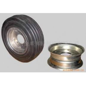 橡胶轮16X4 橡胶、钢芯