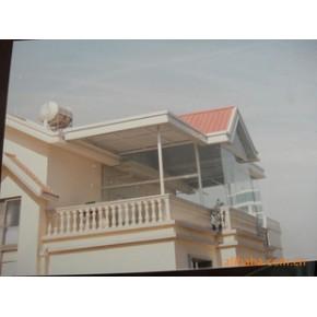 别墅房顶彩板瓦制作安装、承钢结构建筑的活动中心