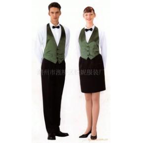 西餐厅男女服务员制服
