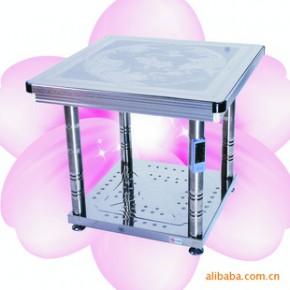不锈钢圆角桌 暖洋洋电取暖桌