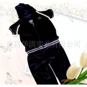优质童装绣花运动套装,出口欧美