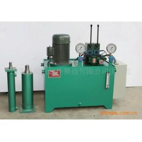 超越液压-整体液压系统--液压站