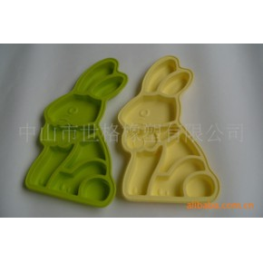 硅胶厨具 兔型硅胶蛋糕烤盘(支持OEM)