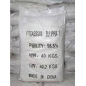 太原正农化工公司生产经销工业硫酸钾,质量保证!