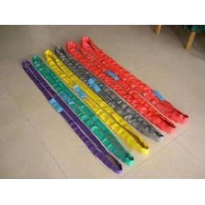 迪尼玛柔性吊装带,杜邦丝两头扣柔性吊装,圆形柔性吊带
