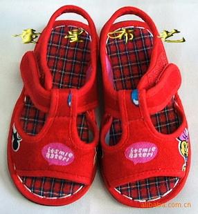 李忠飞(个体经营) 产品列表 童鞋,婴儿鞋 童星布艺纯手工儿童布鞋