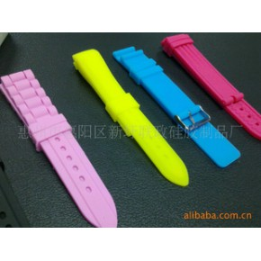 多款时尚环保硅胶手表带,欢迎来样来图制作