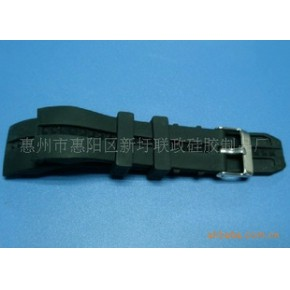 多款时尚环保硅胶手表带,承接OEM