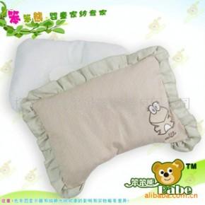 婴儿枕头,品牌婴儿枕淘宝代理代发货,彩棉高级定型枕(图)