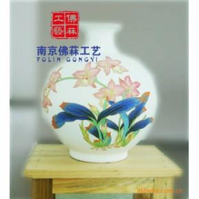 景德镇陶瓷 礼品 珐琅瓷 居家摆件 定制 景泰蓝